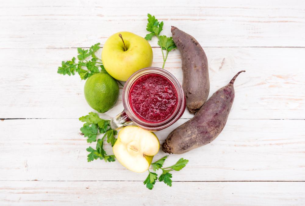 свекольный смузи с яблоком рецепт