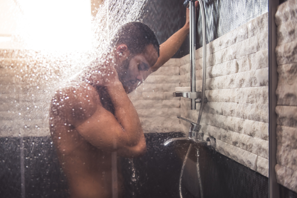 male shower pictures Naked