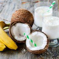 кокосовый смузи с бананом рецепт