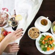 Лента, вредная еда, старение организма, молодость, правильное питание