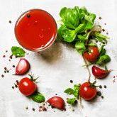 острый овощной смузи рецепт